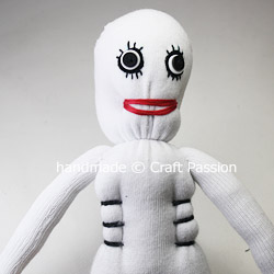 Sew Skeleton Doll