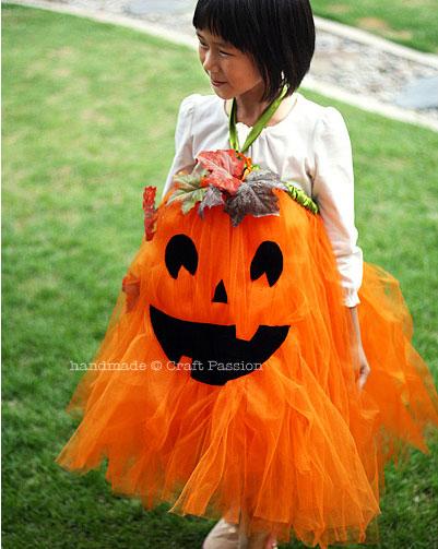 pumpkin tutu