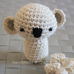 Crochet Pattern for Amigurumi Koala Bear