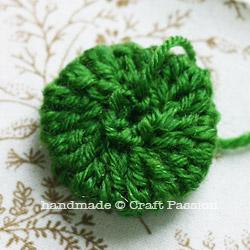 Poinsettia Coaster DIY3