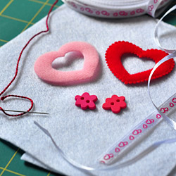Sewing Wedding Ring Pillow Tutorial