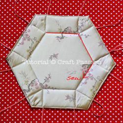 chinese hexagon basket