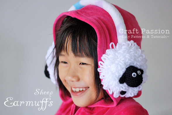 Sheep EarMuffs For Kid