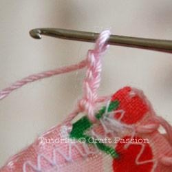 crochet lace trim edge