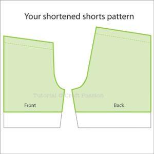 shorts shortened