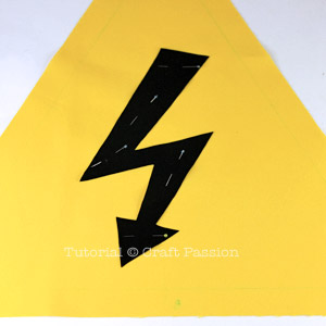 High Voltage Sign Pillow
