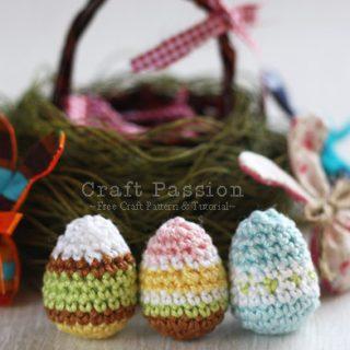 Mini Easter Eggs Amigurumi