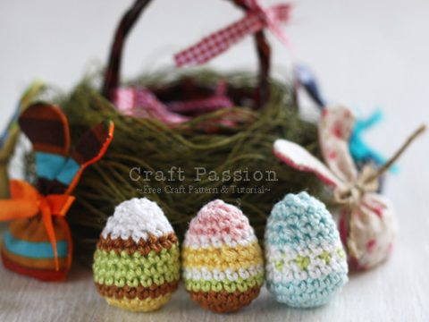 10 Easy and Adorable Free Easter Crochet Patterns in 2020 | 360x480