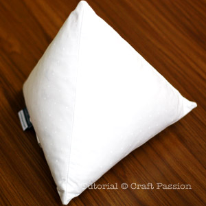 Downlite Novelty Triangle Pillow
