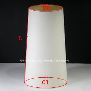 measure lamp shade