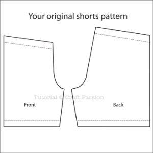 shorts pattern sample