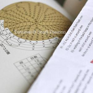 Amigurumi written chart pattern