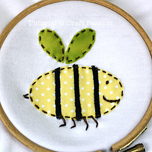 Onesie Applique Embroidery