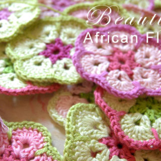 African Flower Crochet Pattern
