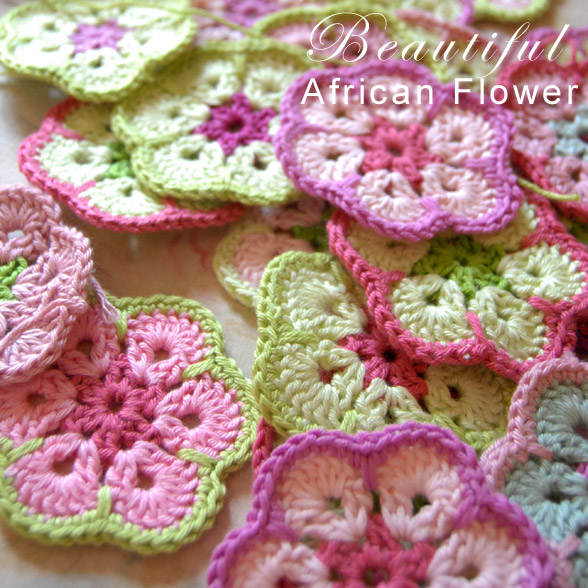 African Flower Granny Free Crochet Pattern Craft Passion