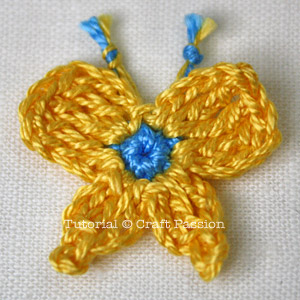 Butterfly Flower Leaf - Crochet Pattern | Craft Passion