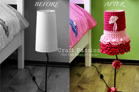Dolly LampShade Cover Crochet Pattern