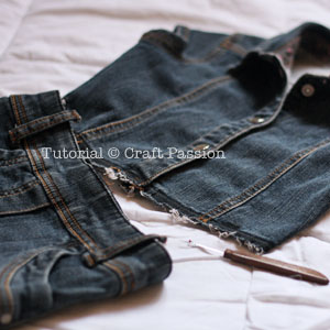 Refashion Drop Waist Denim Dress