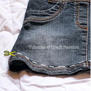 recycle skirt hem