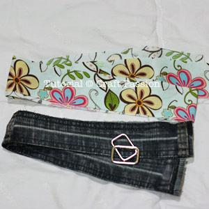 recycle denim belt material