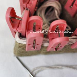 weave top basket