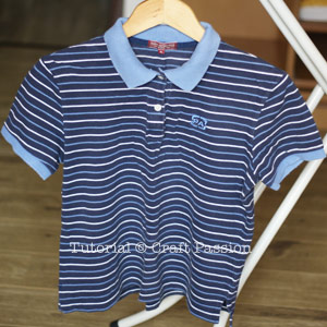 original polo shirt medium size