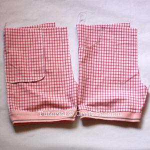 sew kid shorts