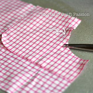 sew shorts pocket