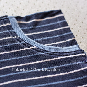 sew jersey shorts with pocket