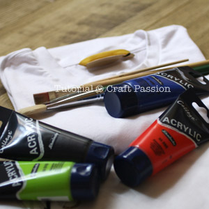 stencil materials & tools