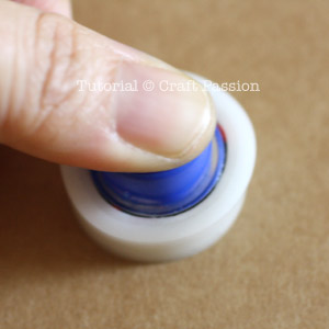 installing button backing