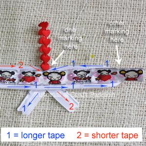 Ribbon Zipper Coin Purse tutorial 14a