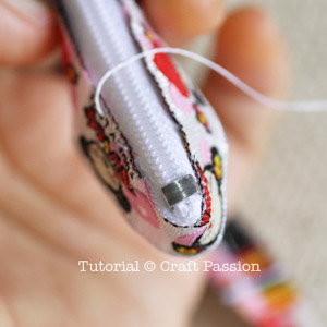 back stitch sewing