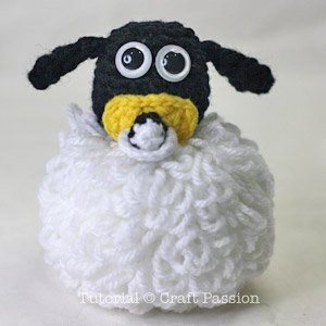 amigurumi timmy the baby sheep