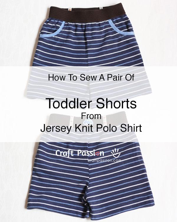 toddler knit shorts