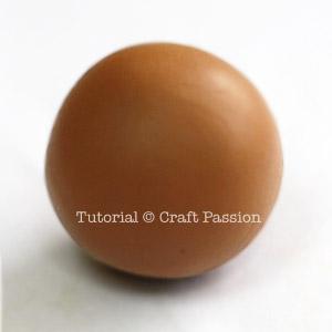 polymer clay ball