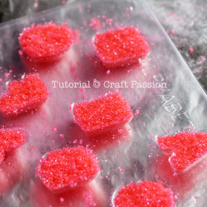 mold sugar with candy mold
