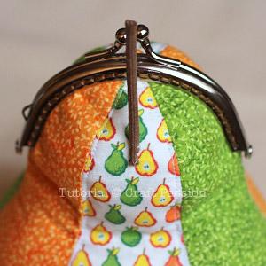 pear-shaped gamaguchi coin purse