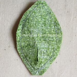 framed pear purse diy 14