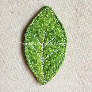 sew leaf