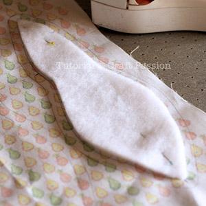 framed pear purse diy 4