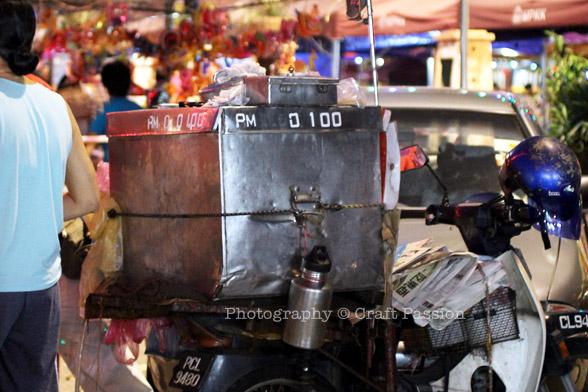 ice cream potong Motorcycle