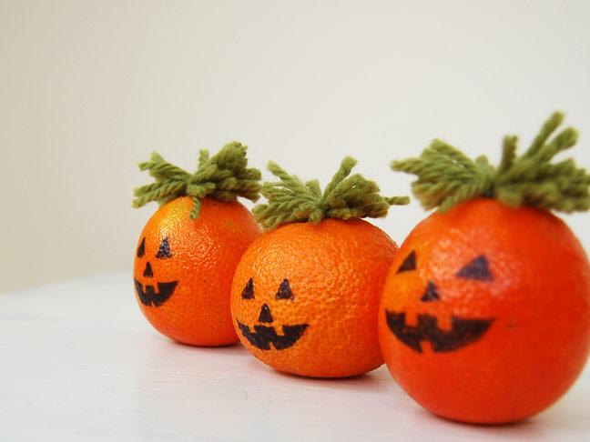 Orange Jack O' Lantern