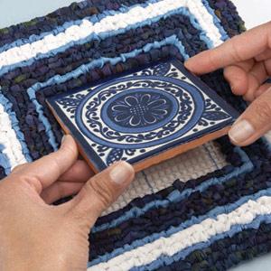 locker hook trivet