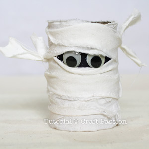mummy pencil holder