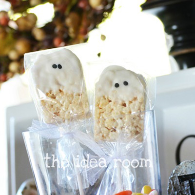 rice krispie bars halloween ghosts 2wm