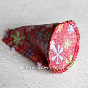 Sew Angel Ornament 11