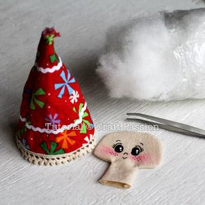 Sew Angel Ornament 12