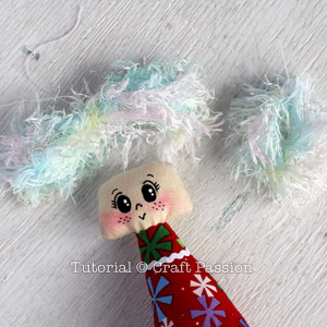 Sew Angel Ornament 15