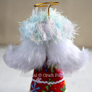 Sew Angel Ornament 23